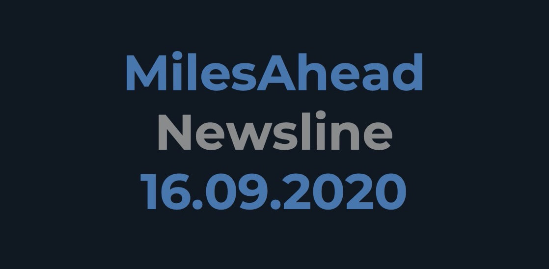 MilesAhead Newsline 16.09.2020
