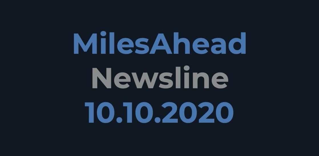 MilesAhead Newsline 10.10.2020