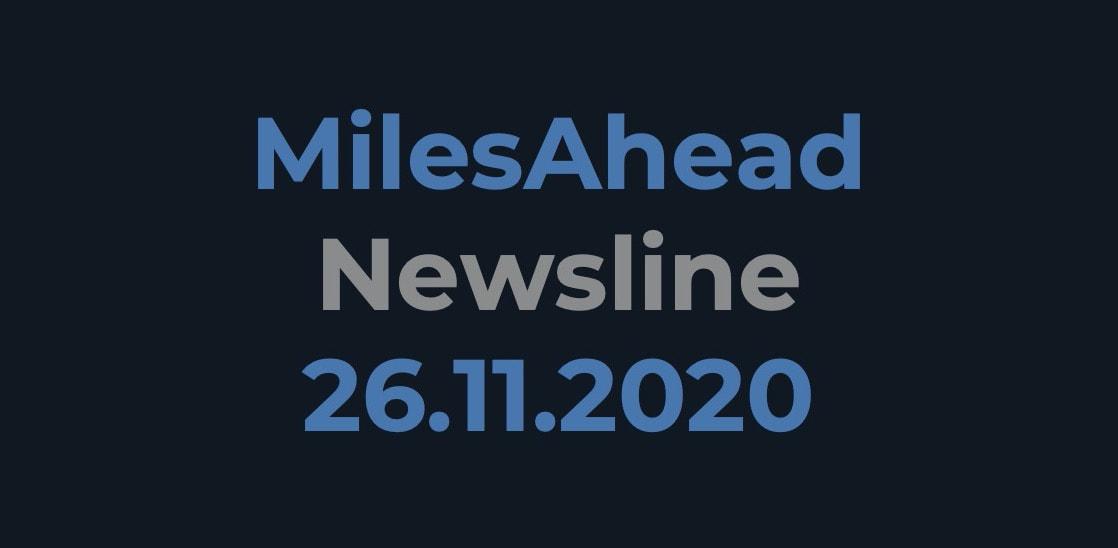 MilesAhead Newsline 26.11.2020