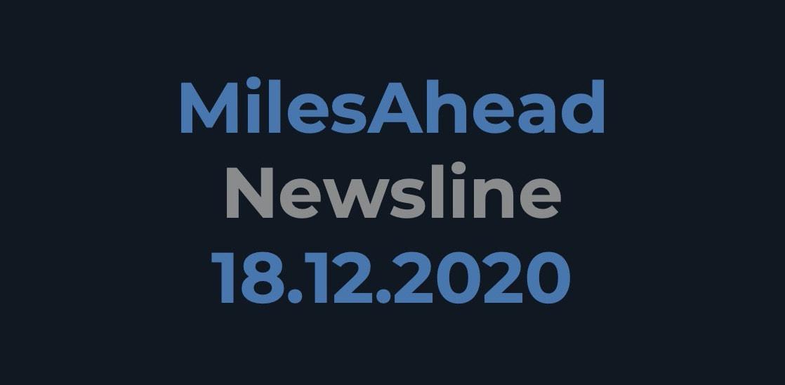 MilesAhead Newsline 18.12.2020