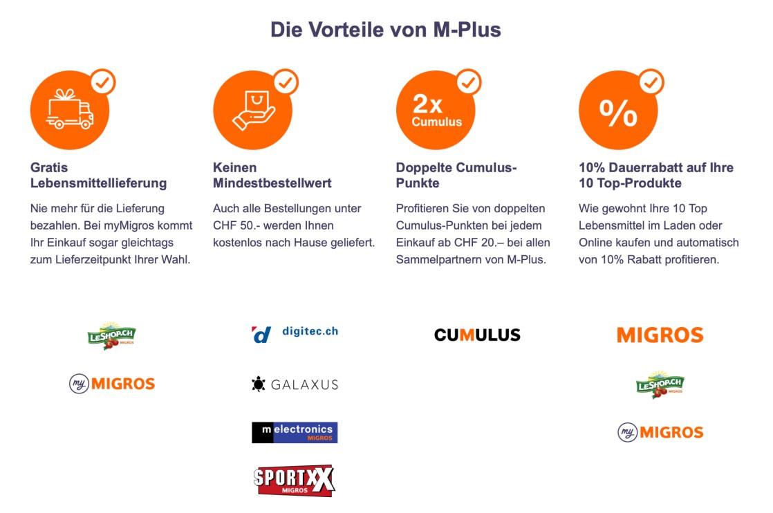 Vorteile von M-Plus