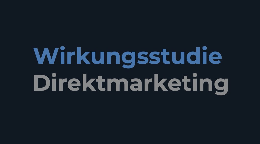 Wirkungsstudie Direktmarketing